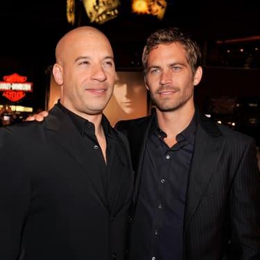 Vin Diesel et Paul Walker à l'avant-première de Fast & Furious 4, à l'Universal CityWalk, le 12 mars 2009.