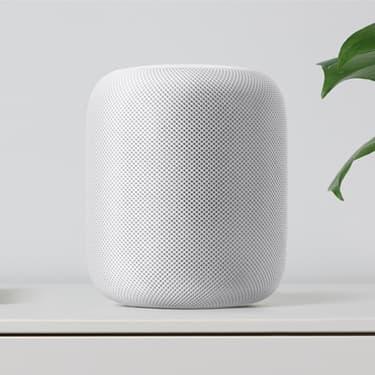 Accro de la pomme croquée, Apple aussi propose une enceinte connectée !
