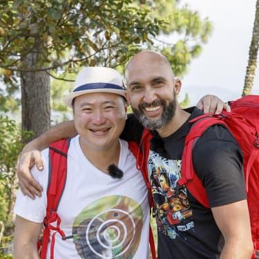 Hoang (saison 5) et Mehdi (saison 11), deux candidats cultes de l'émission Pékin Express.