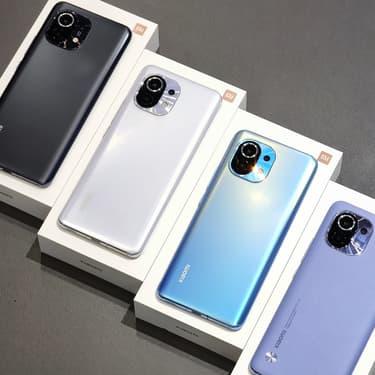 Mi 11 : la version Lite du smartphone de Xiaomi se dévoile