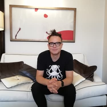 Mark Hoppus, leader de blink-182.