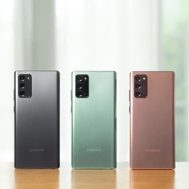 Bon plan SFR : le Samsung Galaxy Note20 5G à 99€