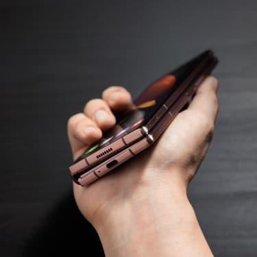 Le Samsung Galaxy Z Fold 2 inspiré d'un aspirateur ?