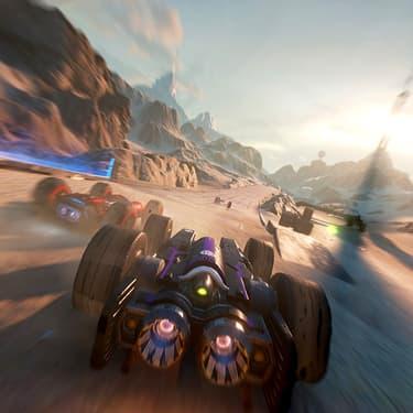Découvrez GRIP Combat Racing : le jeu de course 100% action