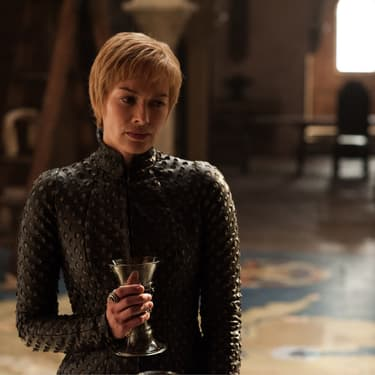 Cersei Lannister (Lena Headey) dans son château à Port-Réal, dans la saison 8 de Game of Thrones diffusée en France sur OCS.