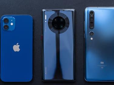 Le classement des fabricants de smartphone qui ont le plus vendu en 2020