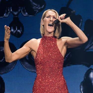Céline Dion, à Québec, pour le lancement de sa tournée Courage en septembre 2019.