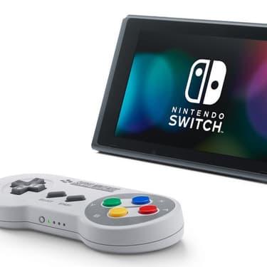 La manette et les jeux Super Nintendo débarquent sur Switch !