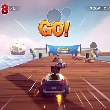 Garfield Kart Furious Racing, à fond les ballons sur SFR Gaming