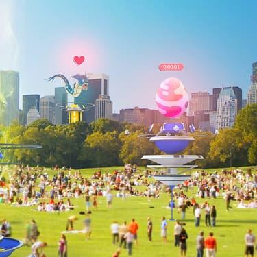 Le monde en 2034, quand 88% de la population jouera à Pokémon GO