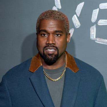 Kanye West au défilé d'automne de Versace, à Manhattan, le 2 décembre 2018.