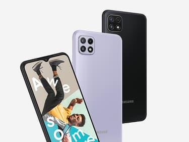 Samsung présente le polyvalent et accessible Galaxy A22