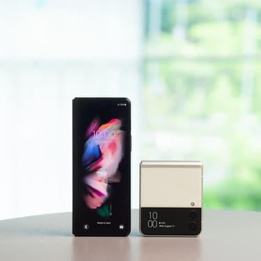 Les Galaxy Z Fold3 et Galaxy Z Flip3 sont en précommande chez SFR !