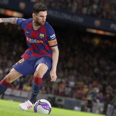 La star du FB Barcelone Lionel Messi est l'ambassadeur de eFootball PES2020.