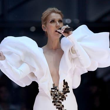Céline Dion sur la scène des Billboard Music Awards, en mai 2017.