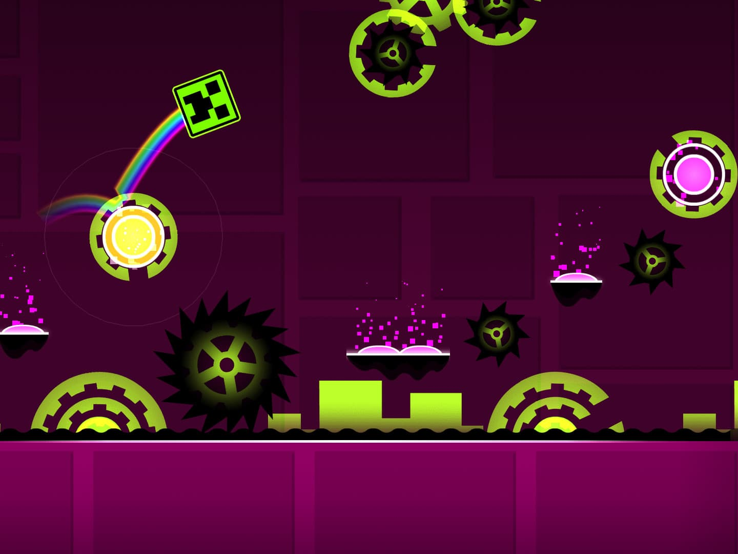 Geometry Dash : le runner cubique surexcitant