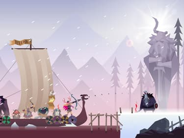 Vikings : le runner sublime et épuré sur mobile
