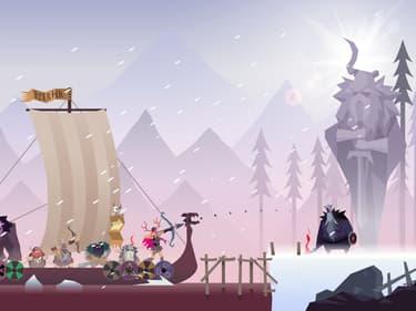 Vikings : le runner sublime et épuré sur mobile