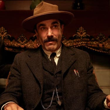 L'acteur Daniel Day Lewis dans There Will Be Blood.