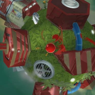 """Redonnez toutes ses couleurs à la ville de Prisma City dans le jeu """"de Blob 2""""."""