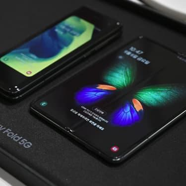 Le Samsung Galaxy Fold présenté à Séoul, le 6 septembre 2019.