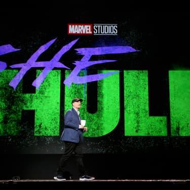 Kevin Feige, président de Marvel Studios, annonce une série centrée sur She-Hulk.