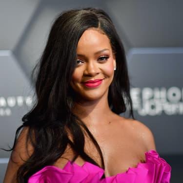 Rihanna lors d'un événement Fenty à New York en 2018