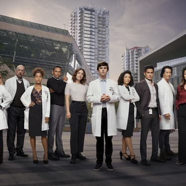 Le casting de la série The Good Doctor sur TF1.