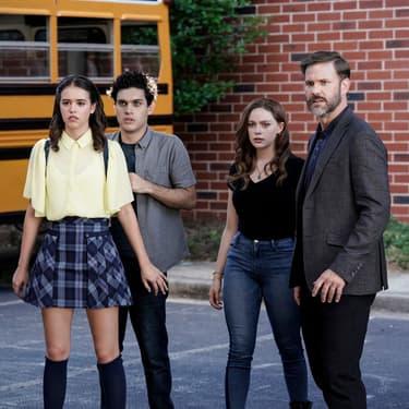 Josie, Landon, Hope et le directeur de l'École Salvatore, Alaric, sont de retour sur SYFY !
