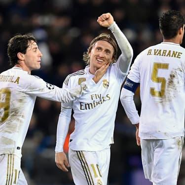 Noël avant l'heure pour les joueurs du Real Madrid
