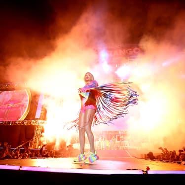 Taylor Swift lors du concert iHeartRadio Wango Tango en Californie en 2019.