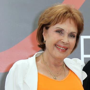 Pascale Roberts au Festival de la télévision de Monte Carlo, en 2012.