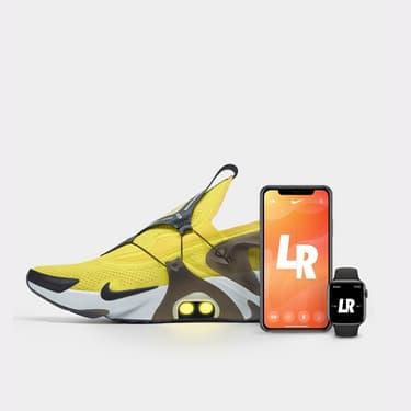 Nike Adapt Huarache, la basket 2.0 qui demande à Siri de faire ses lacets