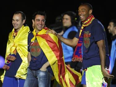 Thierry Henry futur entraîneur du FC Barcelone ?