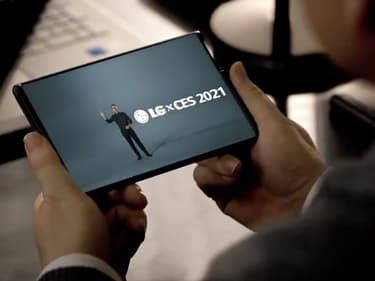 LG Rollable : un nouveau smartphone à écran enroulable