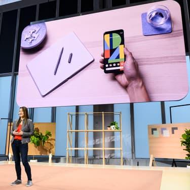 Présentation du Google Pixel 4 à New York, le 15 octobre 2019.