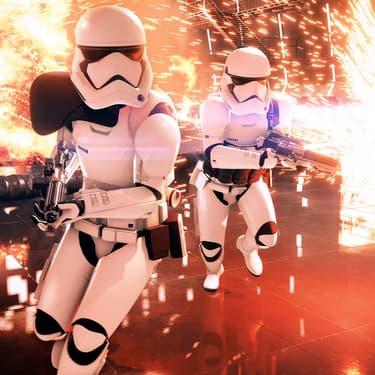 La légende raconte qu'une fois, un stormtrooper a réussi à atteindre sa cible...