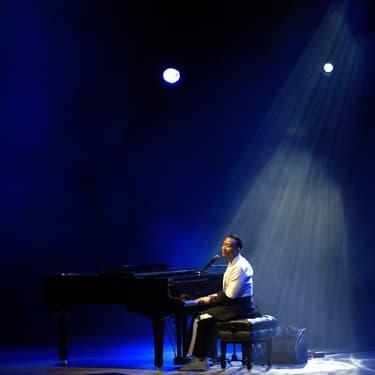 Le chanteur John Legend au Starlite Music Festival de Marbella en juillet 2019.