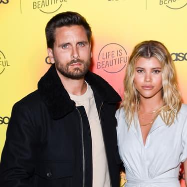 Scott Disick et Sofia Richie à Los Angeles, le 25 avril 2019
