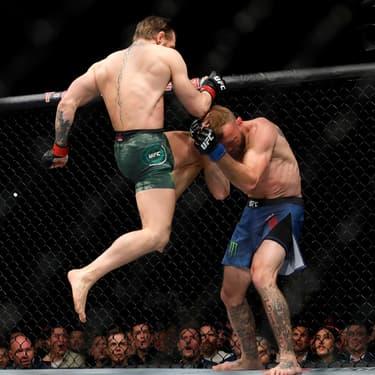 Conor McGregor contre Donald Cerrone à l'UFC246 à Las Vegas, le 18 janvier 2020