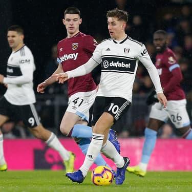 Le milieu de terrain de West Ham (numéro 41) a pris une nouvelle dimension, et rejoint une nouvelle sélection