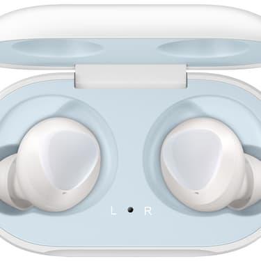 Les Galaxy Buds, nouveaux écouteurs connectés sans fil de la marque Samsung.