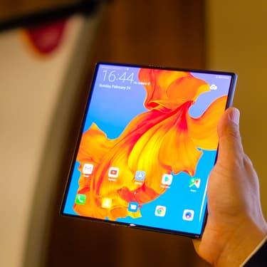 Le téléphone pliable Huawei Mate X2 se dévoile