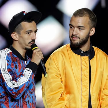 Les rappeurs de Toulouse Bigflo et Oli lors des Victoires de la Musique 2019