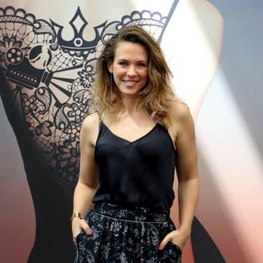 La chanteuse et comédienne Lorie Pester au Festival de Monte Carlo en 2018.