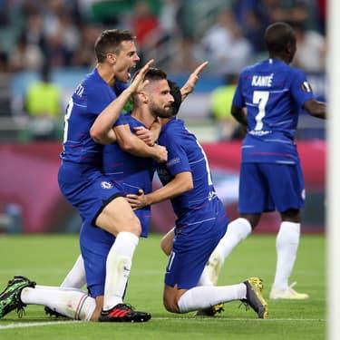 Ils ont beau essayé de le retenir, ses coéquipiers de Chelsea vont bientôt devoir laisser Giroud partir.