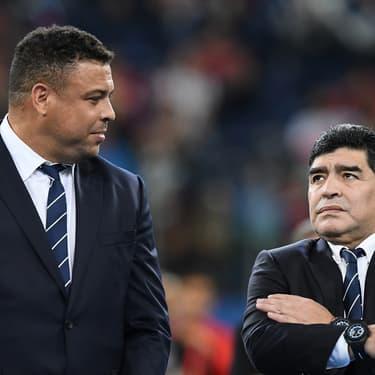 Incroyable mais vrai : les légendes Ronaldo et Maradona n'ont jamais remporté la Ligue des Champions
