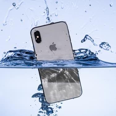 Apple cherche comment évacuer l'eau des iPhone