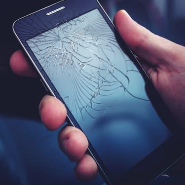 Que faire quand on casse l'écran de son smartphone ?