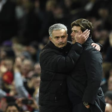 Quand José Mourinho et Mauricio Pochettino se croisaient, le 11 décembre 2018.